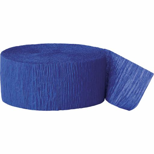 Streamer Royal Blue