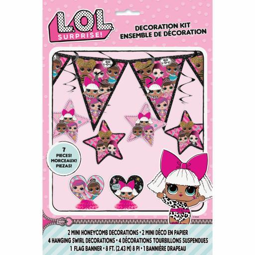 LOL Surprise Decoration Kit
