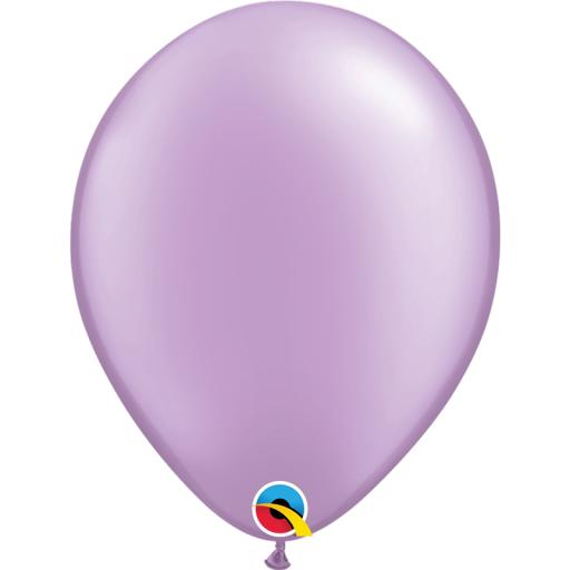 Latex Balloons Pearl Lavender