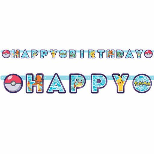 Pokemon Letter Banner