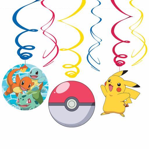 Pokemon Swirl Decorations