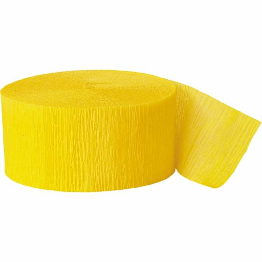 Streamer Hot Yellow