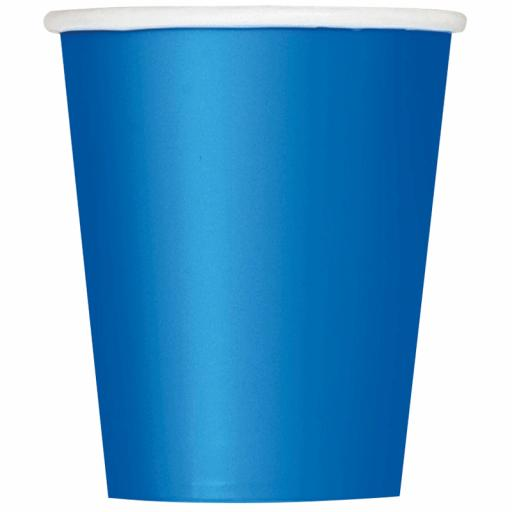 Royal Paper Blue Cups