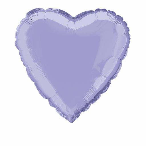 Lavender Heart Foil