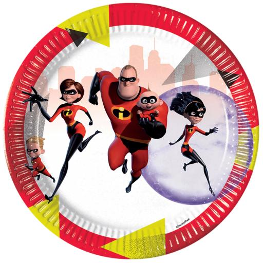 The Incredibles 2 Plates
