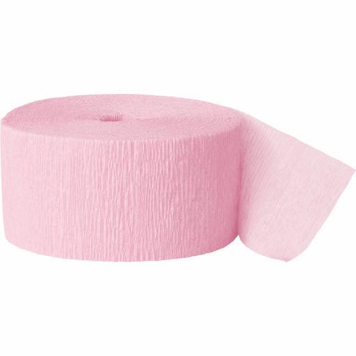 Streamer Pastel Pink