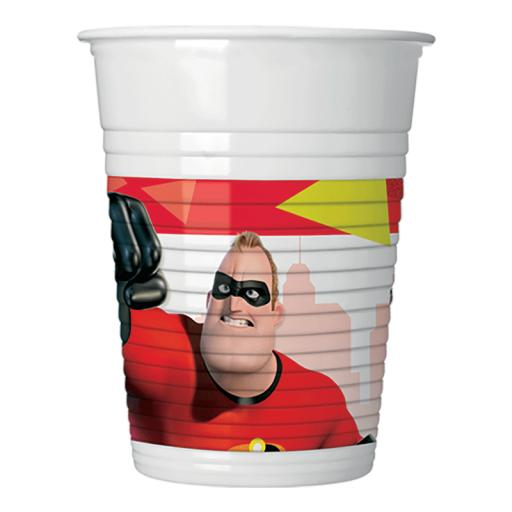 The Incredibles 2 Cups