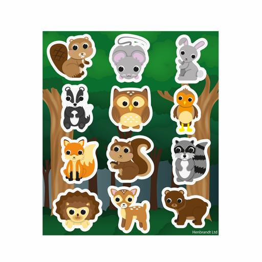 Woodland Stickers - Box of 120