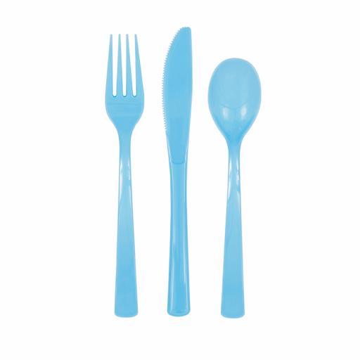 Powder Blue Cutlery
