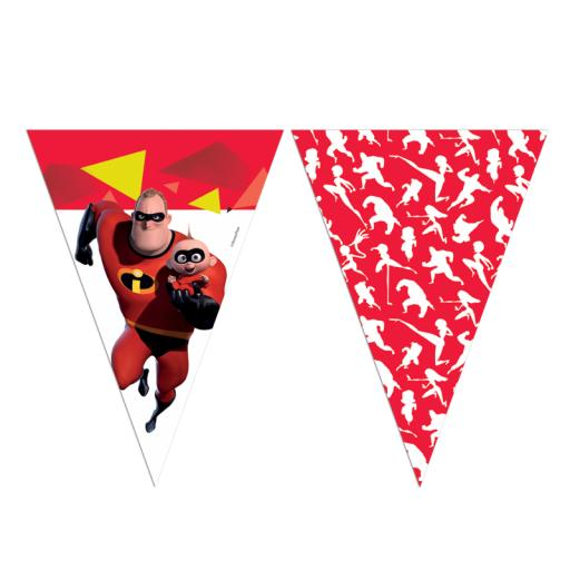 The Incredibles 2 Flag Banner