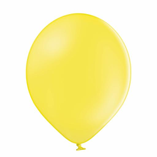 Latex Balloons - Yellow - Pack of 100