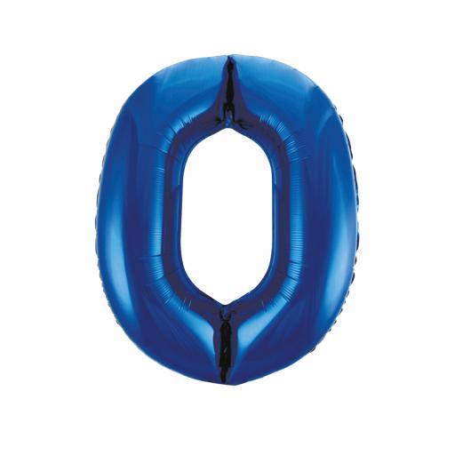 Giant Foil 0 Blue