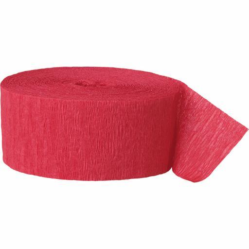 Streamer Red