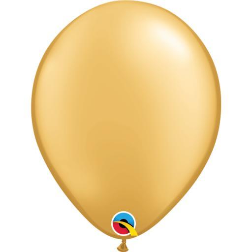 Latex Balloons Metallic Gold