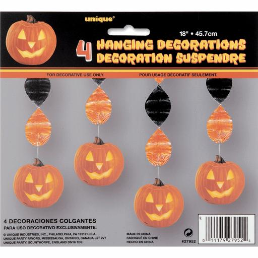 Pumpkin Glow Hanging Decorations