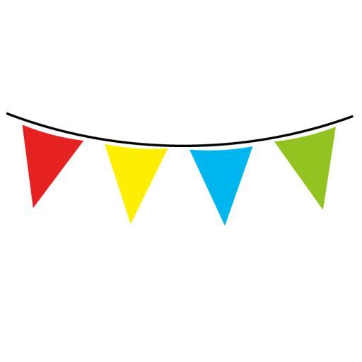 Multicolour Flag Banner