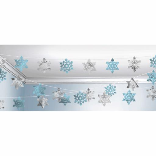 Snowflake Value String Decoration