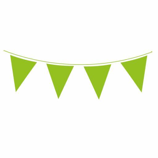 Green Flag Banner