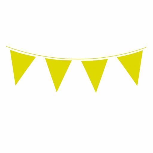 Lime Green Flag Banner