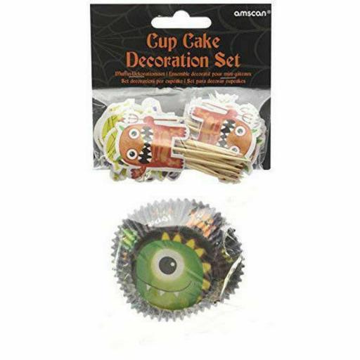 Boo Crew Cupcake Cases & Picks