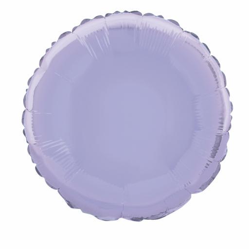 Lavender Round Foil