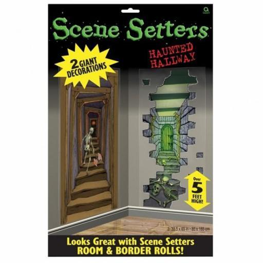 Haunted Hallways Scene Setter