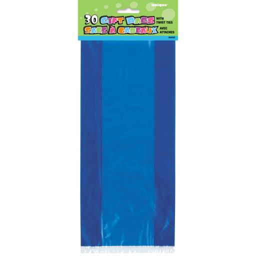 Cello Bag - Royal Blue - 6 packs of 30