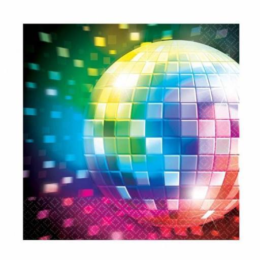 Disco Ball Napkins