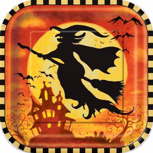 """Spooky Hollow 9"""" Plates"""