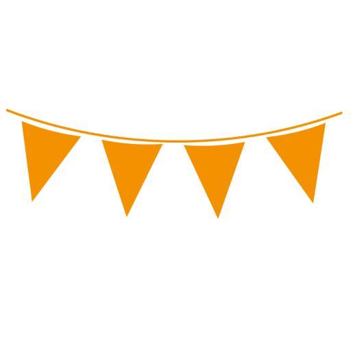 Orange Flag Banner