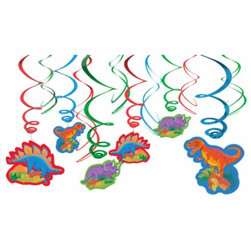 Prehistoric Swirl Decorations