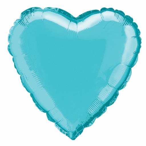 Baby Blue Heart Foil