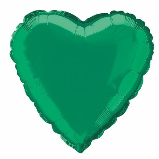 Green Heart Foil