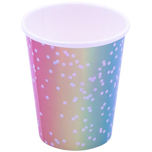 Rainbow Ombre Cups