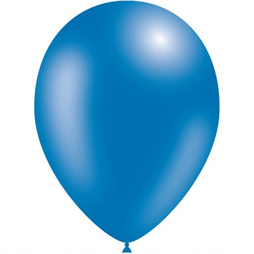 Latex Balloons - Blue - Pack of 50
