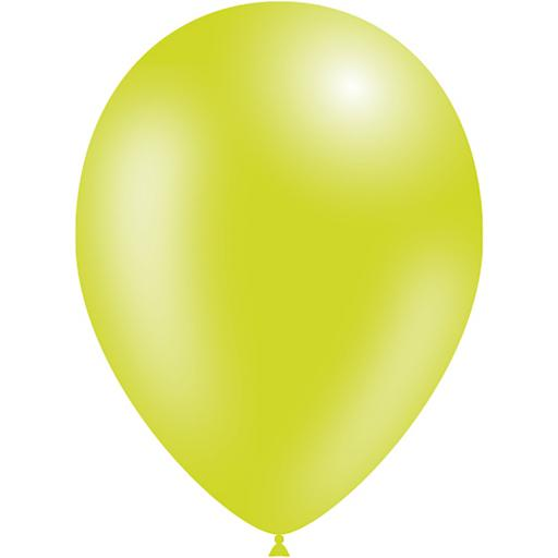 Latex Balloons - Lime Green - Pack of 50