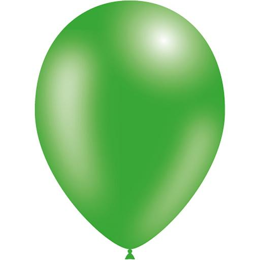 Latex Balloons - Green - Pack of 50