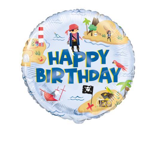 Ahoy Pirate Foil Balloon