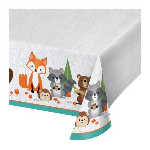 Woodland Animals Tablecover