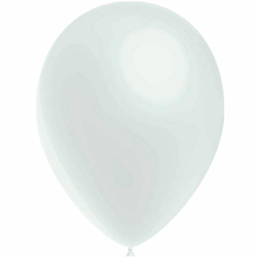 Latex Balloons - White - Pack of 50