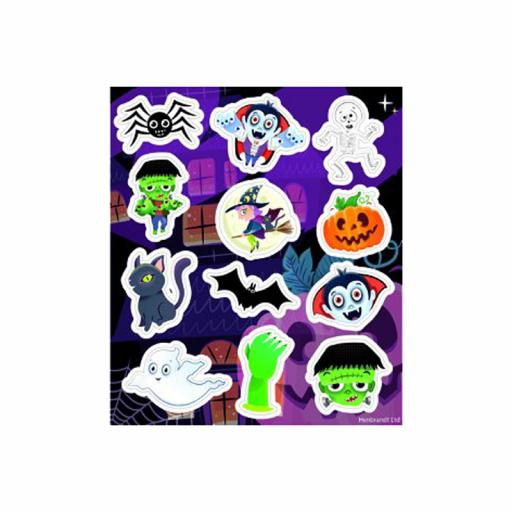 Halloween Stickers - Pack of 120