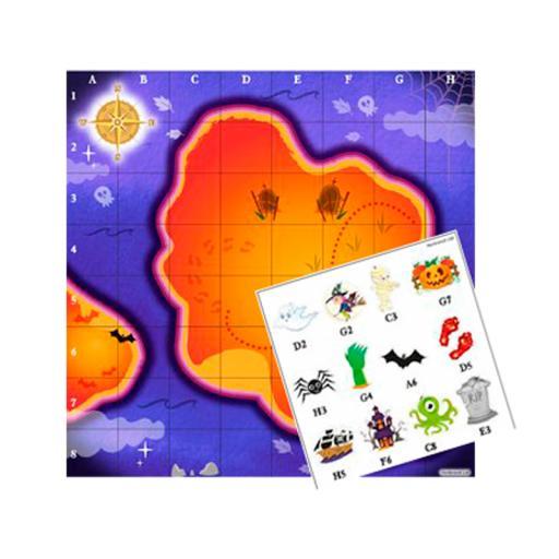 Halloween Treasure Map Game - Box of 240