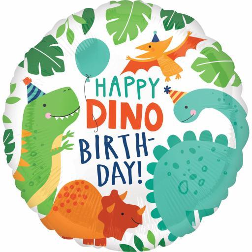 Dino-Mite Foil Balloon