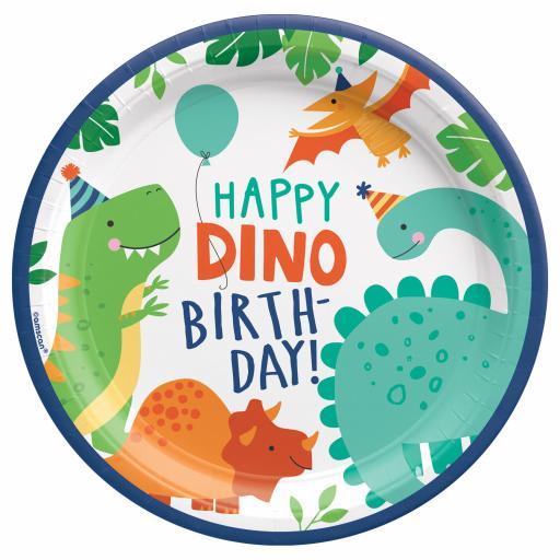Dino-Mite Plates